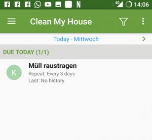 Flatastic Putzplan App